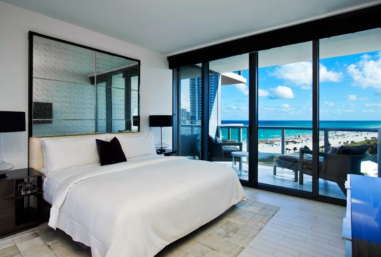 Stay At W South Beach In Miami, With Amazing Exterior Views