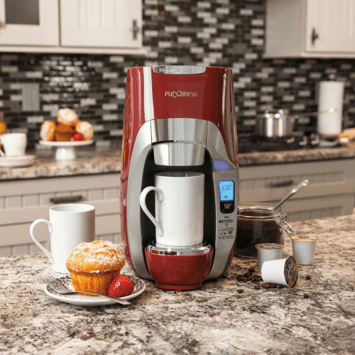 Hamilton Beach Single Serve Coffee Maker Red Just 31.45