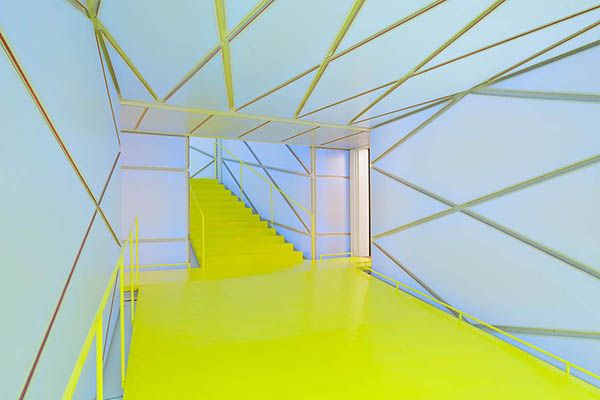 Madrid. Medialab-Prado Contemporary Art Center. Architect: Langarita Navarro. Photograph: Miguel de Guzmán