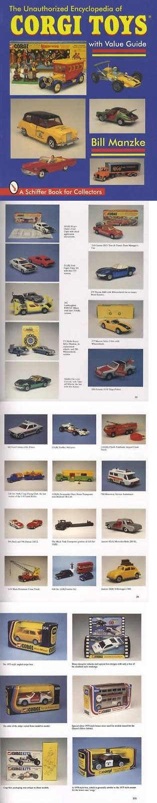 Price Guides and Publications 97093: Vintage Diecast Corgi Cars ...