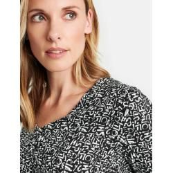 Photo of Gerry Weber Oversize Shirt Schwarz Damen Gerry WeberGerry Weber