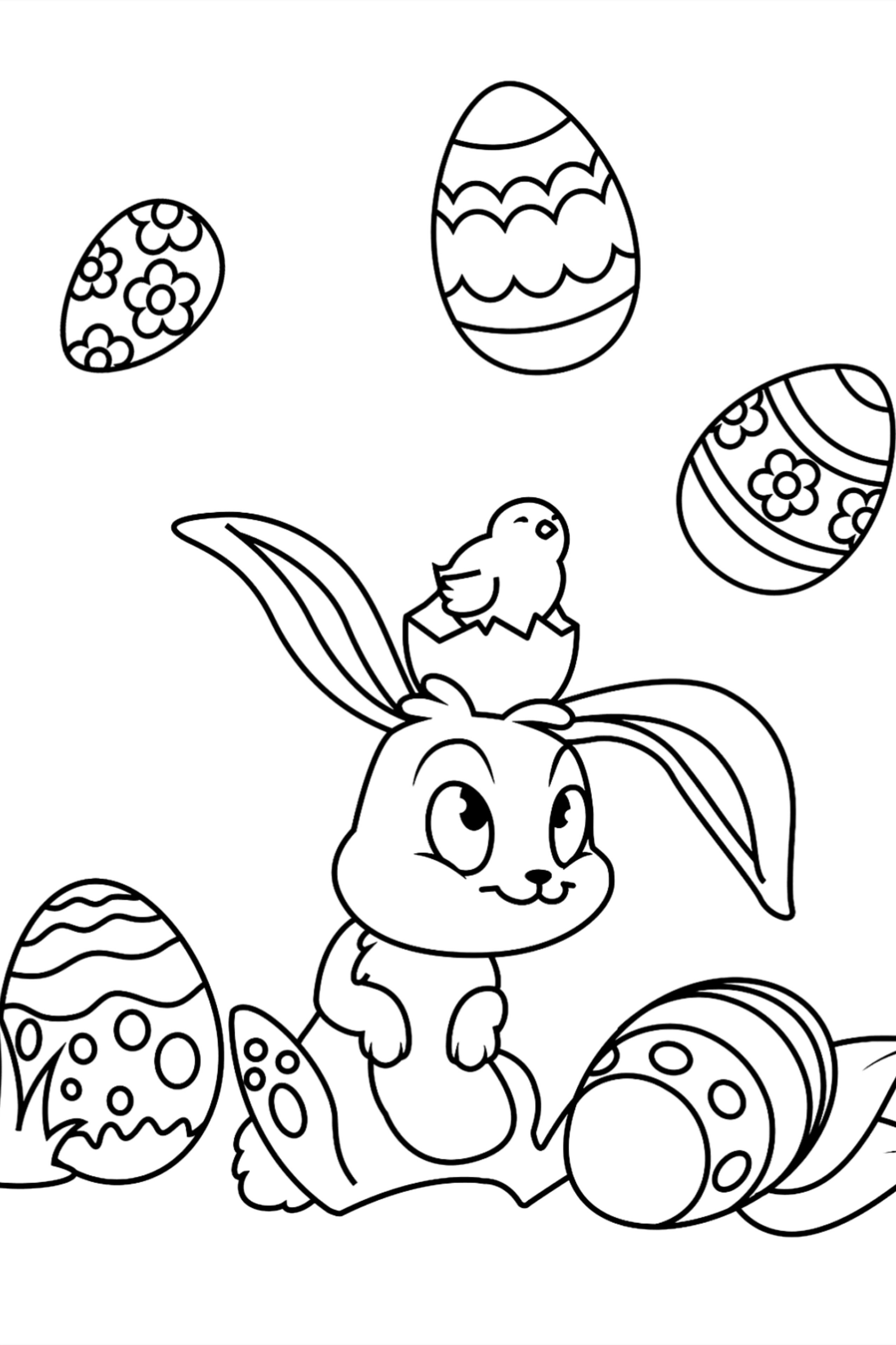 50 Easter Coloring Pages For Kids Easter Coloring Pages Coloring Pages For Kids Coloring Pages