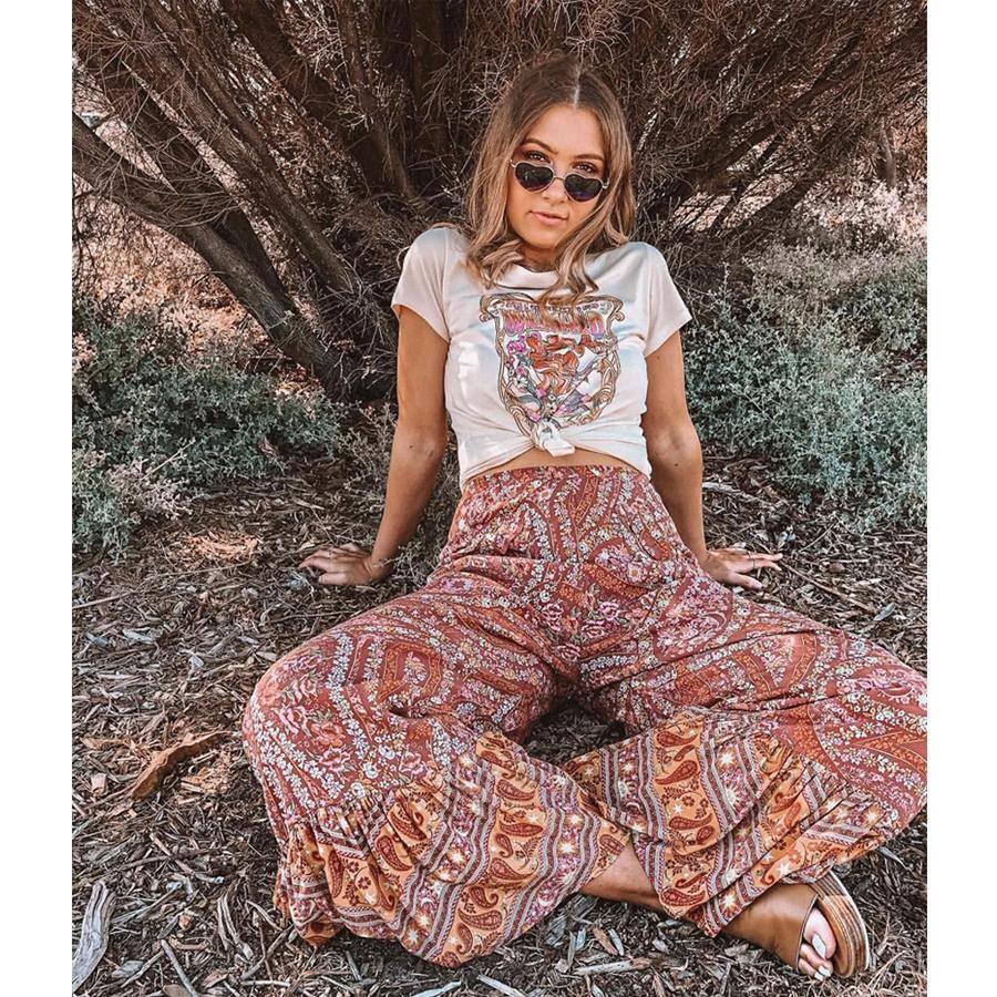 April Boho Rayon Pants #hippie