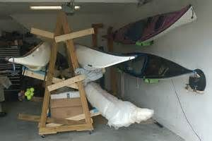 Diy Plan For Wooden Canoe Rack Ehowcom Pictures