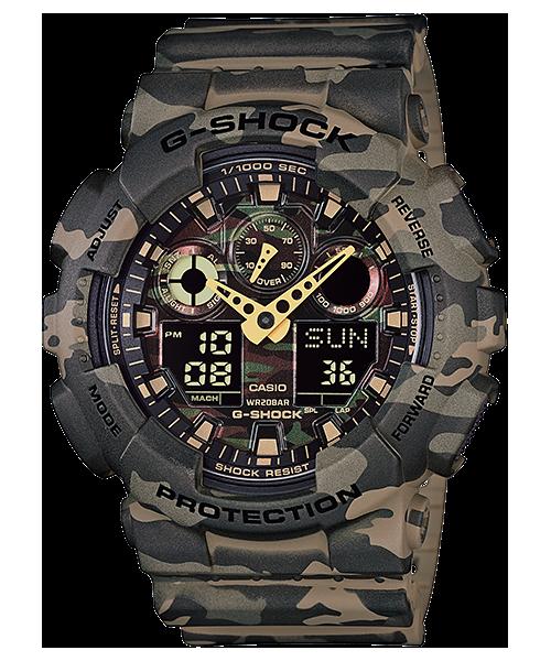 fe8b0d0145d Relógio Casio G-Shock GA-100CM-5A