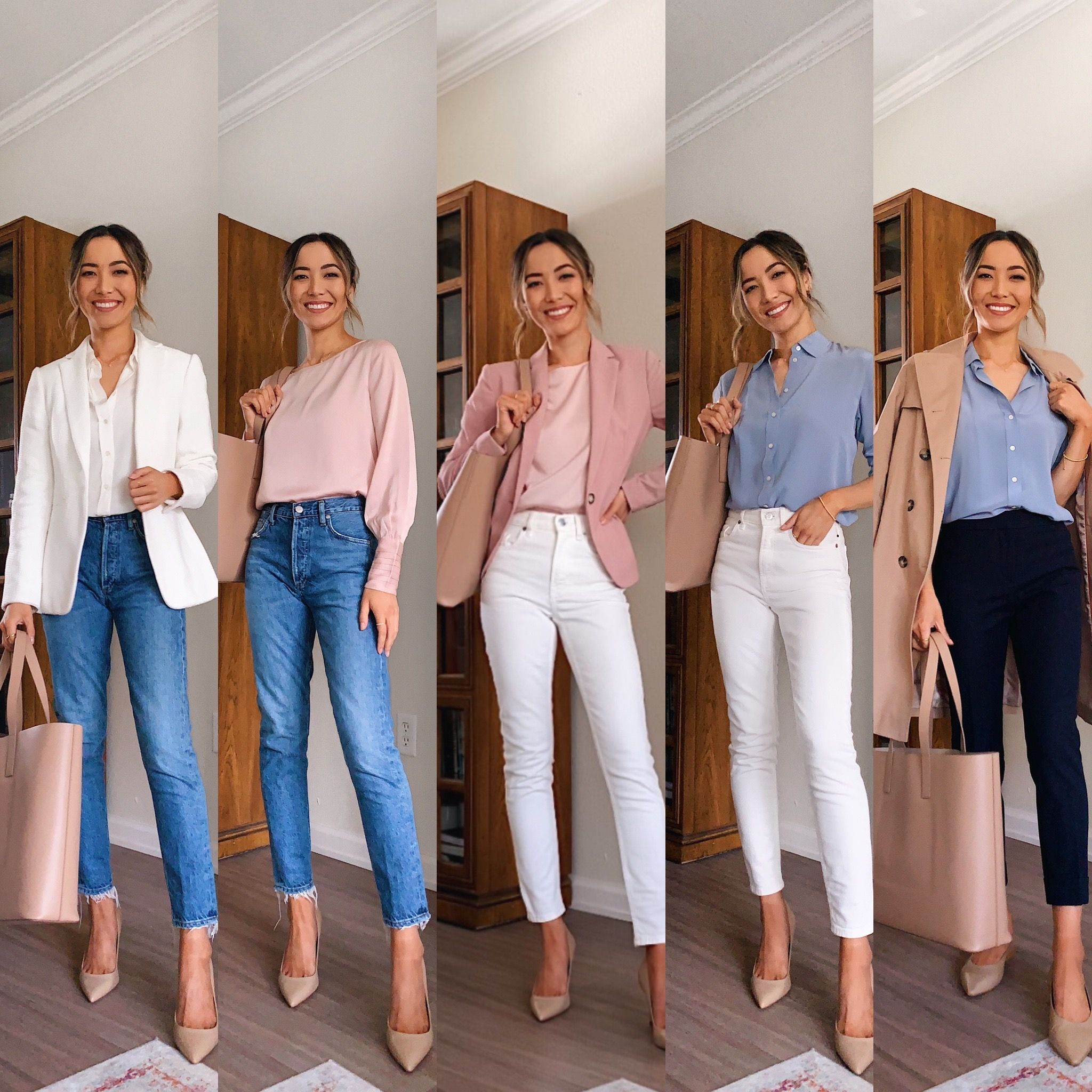 Women for casual is what business arrow right