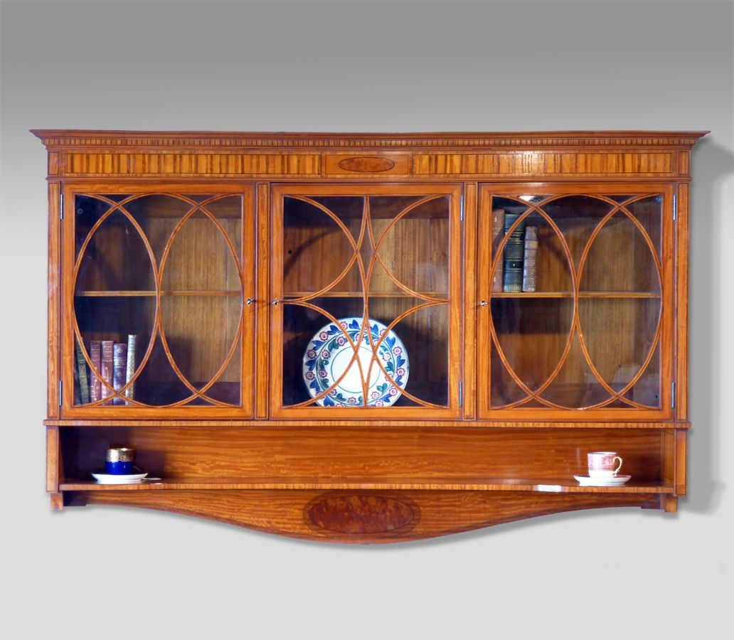 Antique Display Cabinet, Wall Hanging Cabinet. Antique Shelves   Bookcases  And Display Cabinets