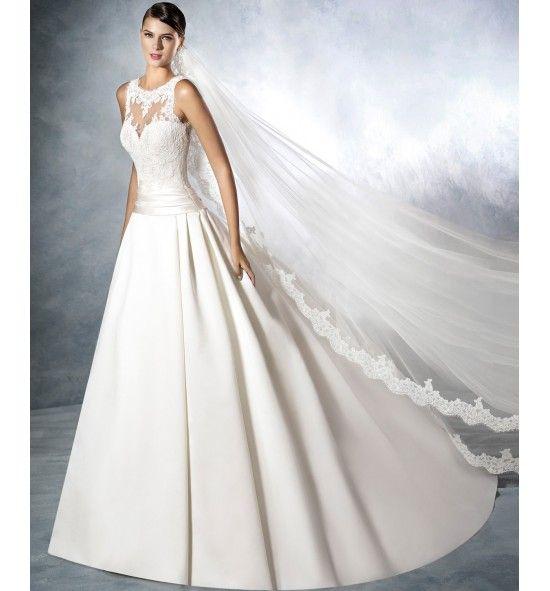 velo de novia modelo 2758, san patrick   mercy   robe, couture