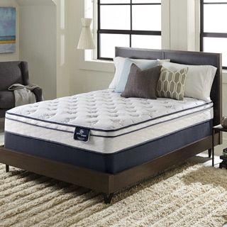 For Serta Perfect Sleeper Incite Euro Top Full Size Mattress Set