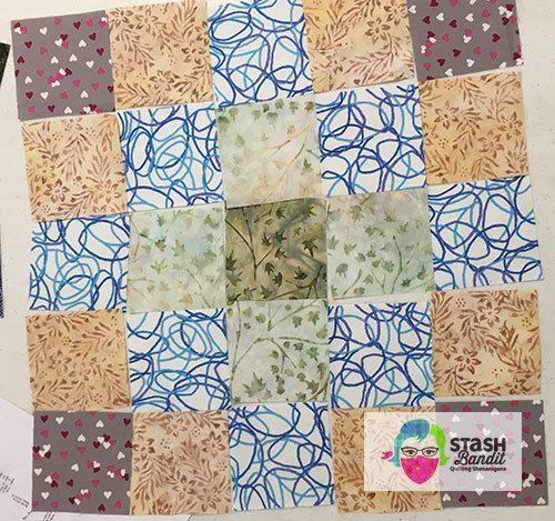 Impromptu Quilt Guild Program Stash Bandit Quilts 9 Pinterest
