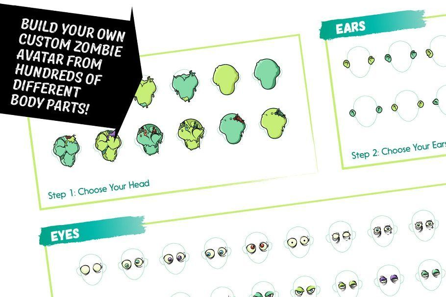 Ad: Zombie Avatar Builder by Serkworks Art Labs on @creativemarket. WHO EVER THOUGHT THE ZOMBIE APOCALYPSE COULD BE THIS MUCH FUN?! Now you can build your own personalized zombie hoard with billions of unique #creativemarket #zombieapocalypseparty Ad: Zombie Avatar Builder by Serkworks Art Labs on @creativemarket. WHO EVER THOUGHT THE ZOMBIE APOCALYPSE COULD BE THIS MUCH FUN?! Now you can build your own personalized zombie hoard with billions of unique #creativemarket #zombieapocalypseparty