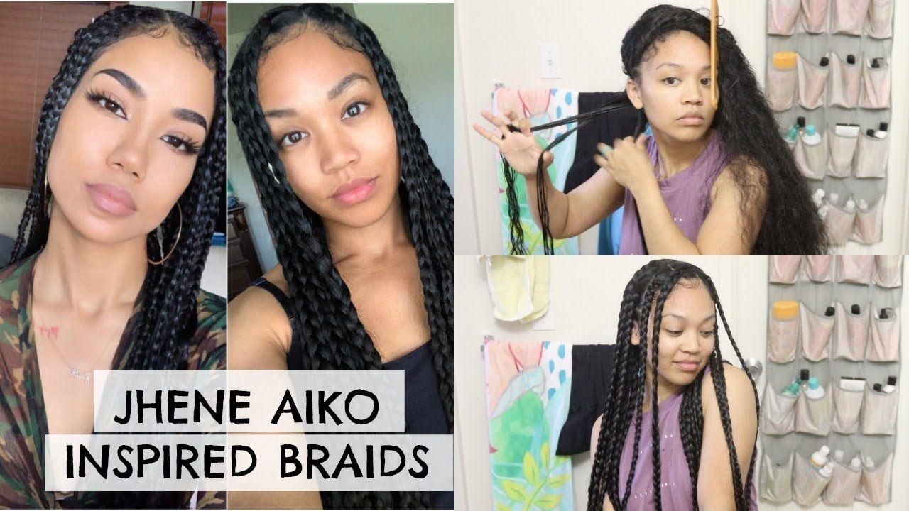 Jhene Aiko Inspired Hairstyle   Braids