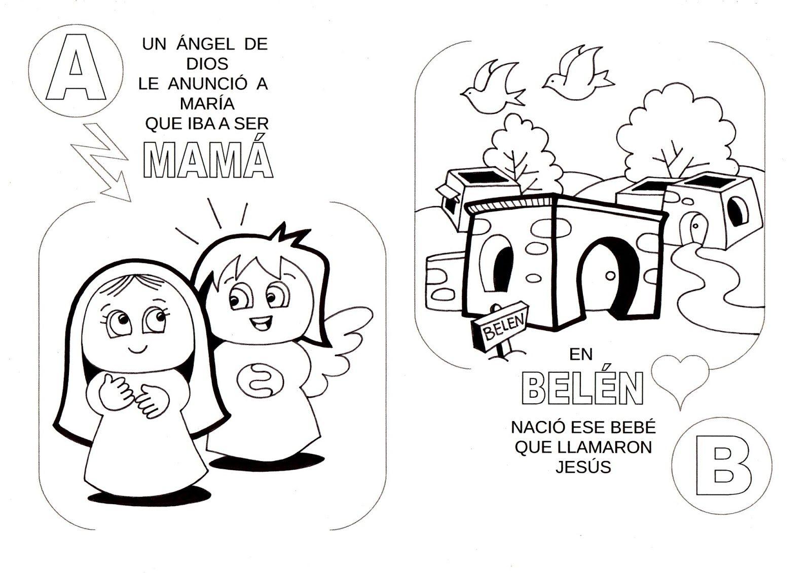 Dibujos De La Biblia Para Colorear E Imprimir: Laminas De La Biblia Para Colorear ,Imprimir Y Recortar
