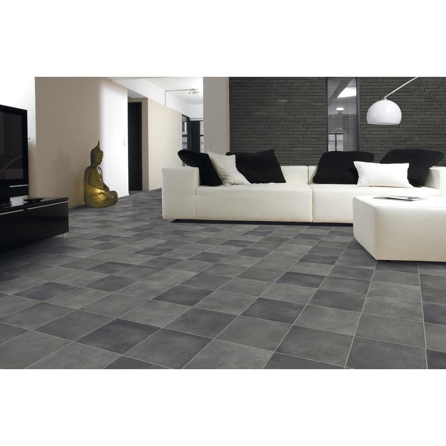Vinyl Flooring Options Lowes: Shop IVC 12-ft W Delta 595 Tile Low-Gloss Finish Sheet