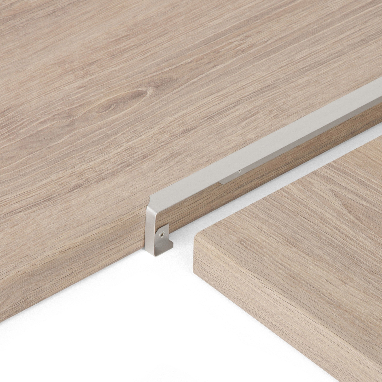 Profil De Jonction D Angle Gris L 67 X L 2 Cm Plan De Travail Stratifie Angles Et Charniere Invisible