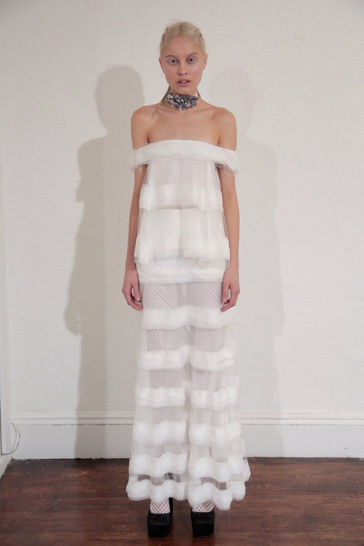 Pin for Later: Les Plus Grandes Tendances Robes de Mariée de 2017  Houghton Bridal Printemps 2017