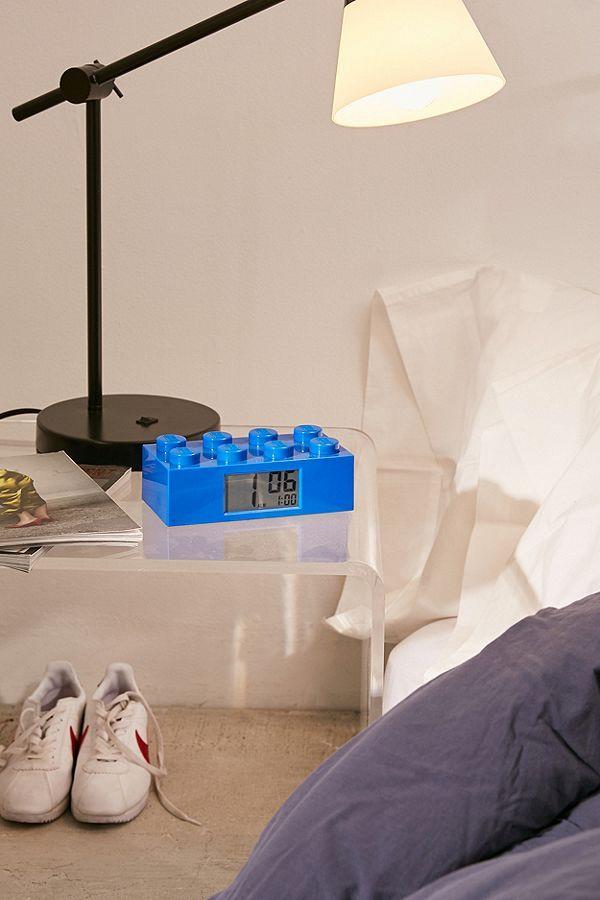 Decorative Bedroom Alarm Clocks: LEGO Brick Alarm Clock Em 2018
