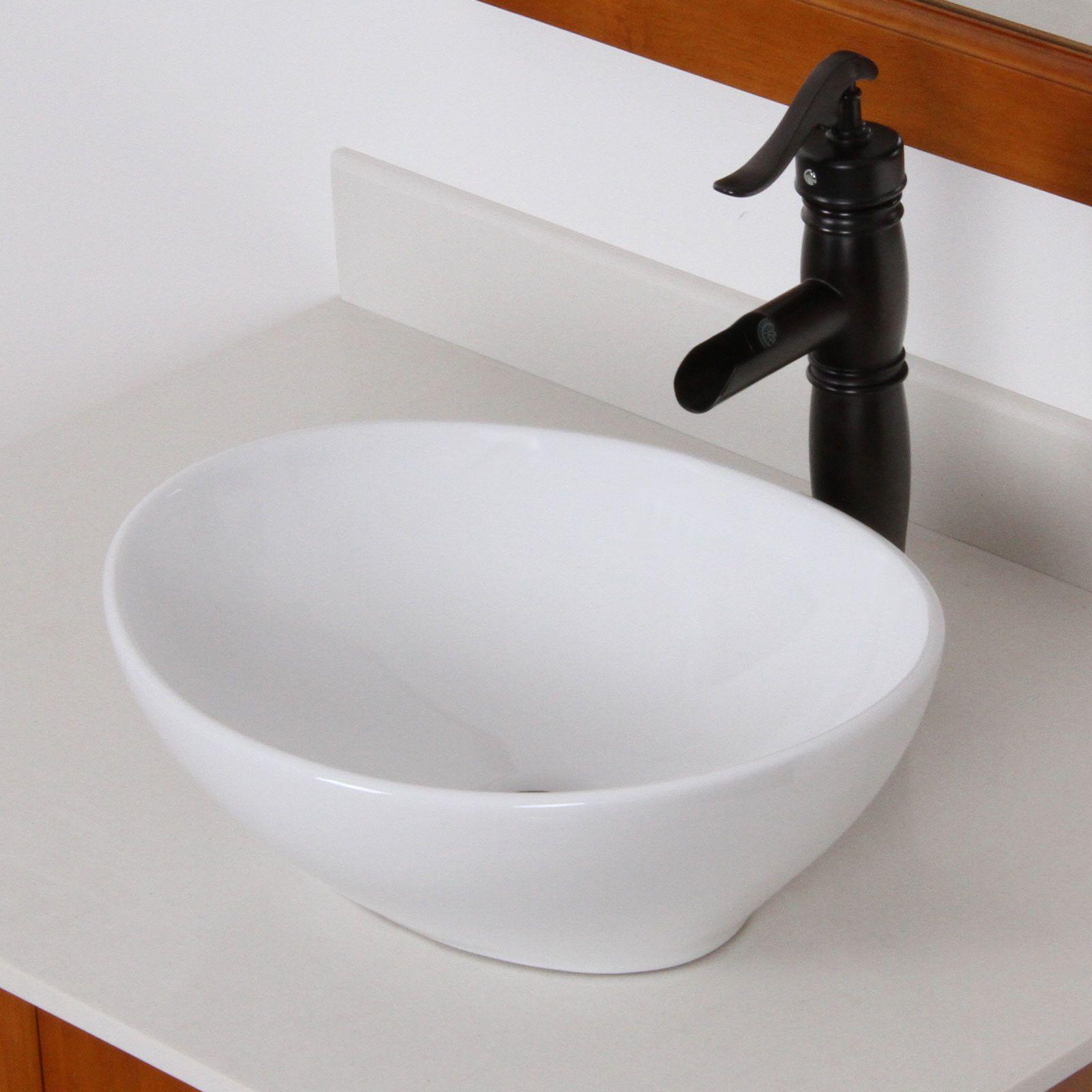 Elite Vintage Single Handle Bathroom Water Pump Faucet | Powder Room ...