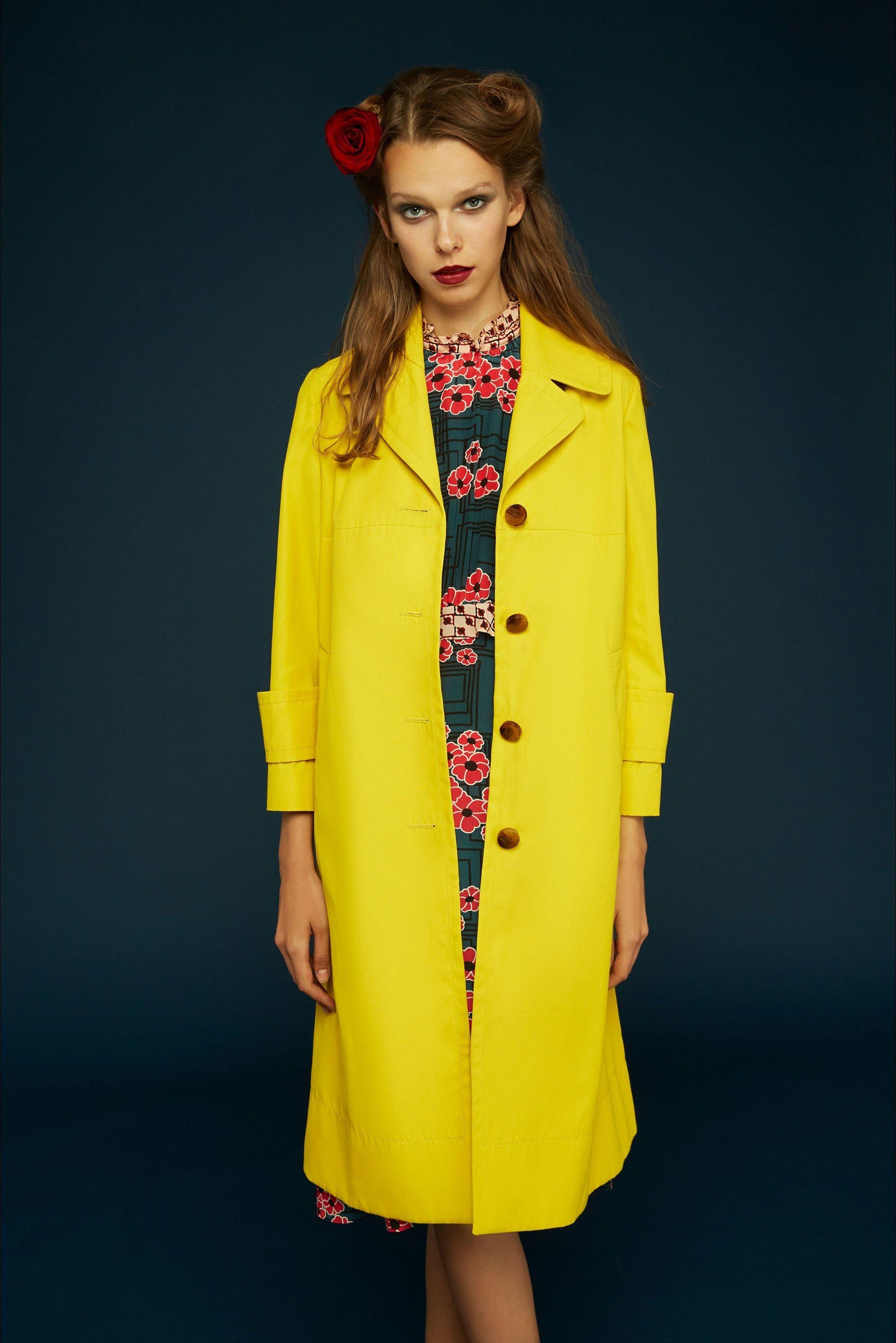 Orla Kiely - Look 8 (coat)