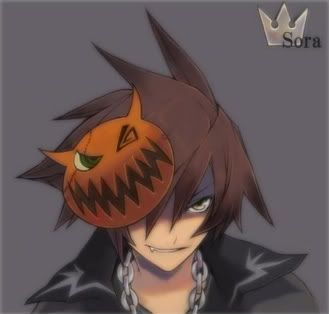 The best Halloween Town Sora I have seen.