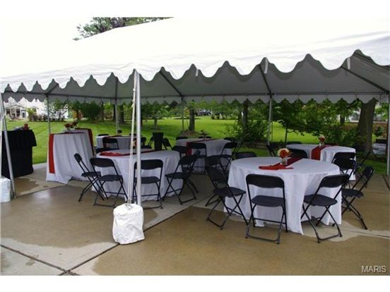 Having a party?  The driveway is great for tents and tables