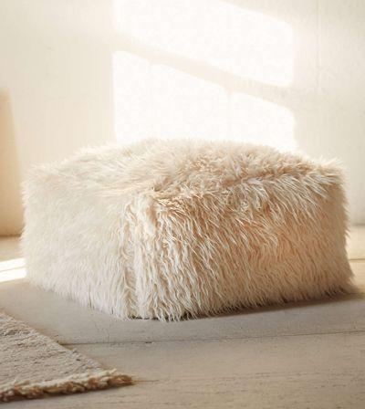 Faux Fur Pouf Furniture Pinterest Faux Fur Chandelier And Best Faux Fur Pouf Ottoman