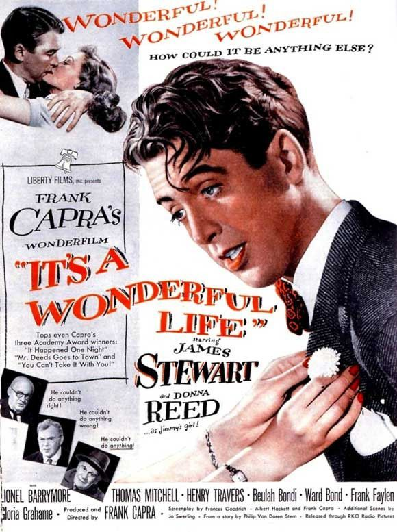 It's a Wonderful Life 11x17 Movie Poster (1946 ...