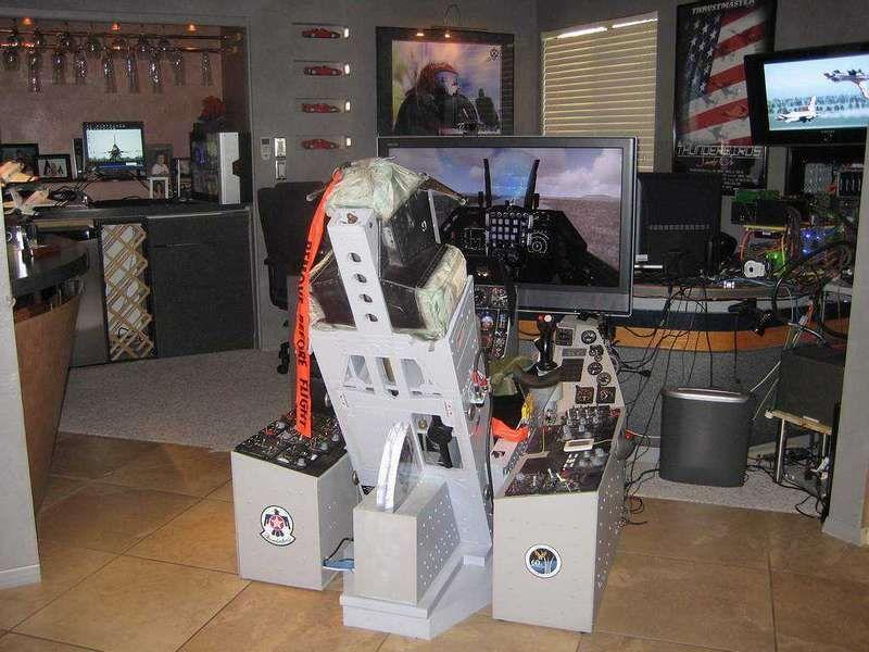 Please show off your pit. Flight Sim Pit Builders