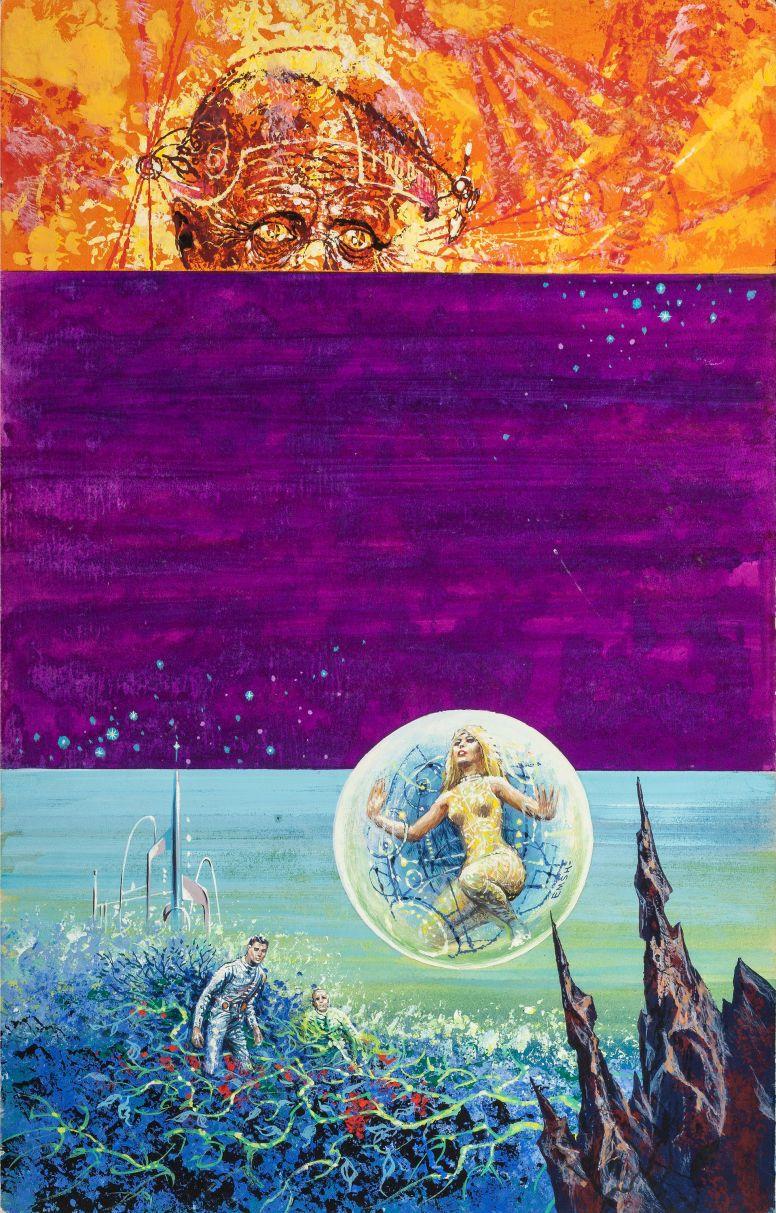 ED EMSHWILLER - art for The Twenty Second Century by John Christopher - 1962 Lancer Books