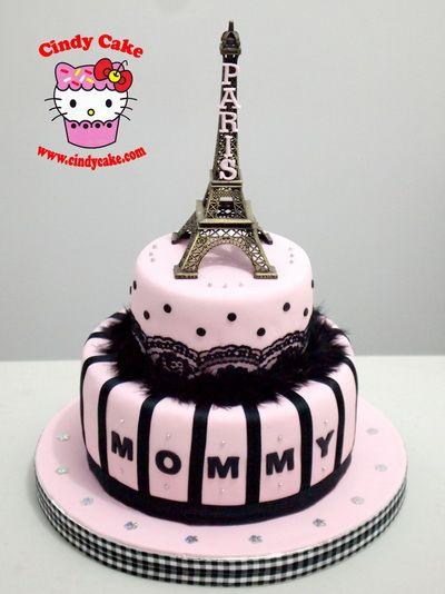 Paris Birthday Cake Google Search Jewelry Party Pinterest - Birthday cake paris