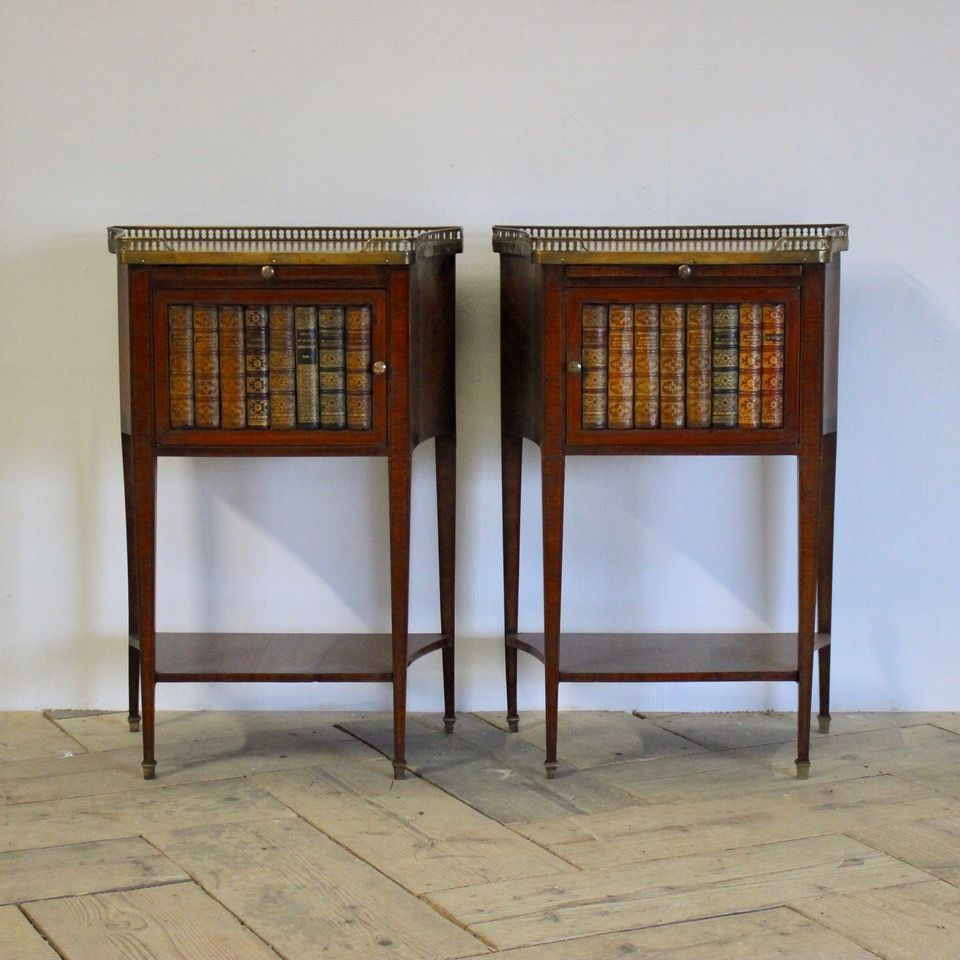 Good Pair Of 1940s French Bedside Tables French Bedside Tables