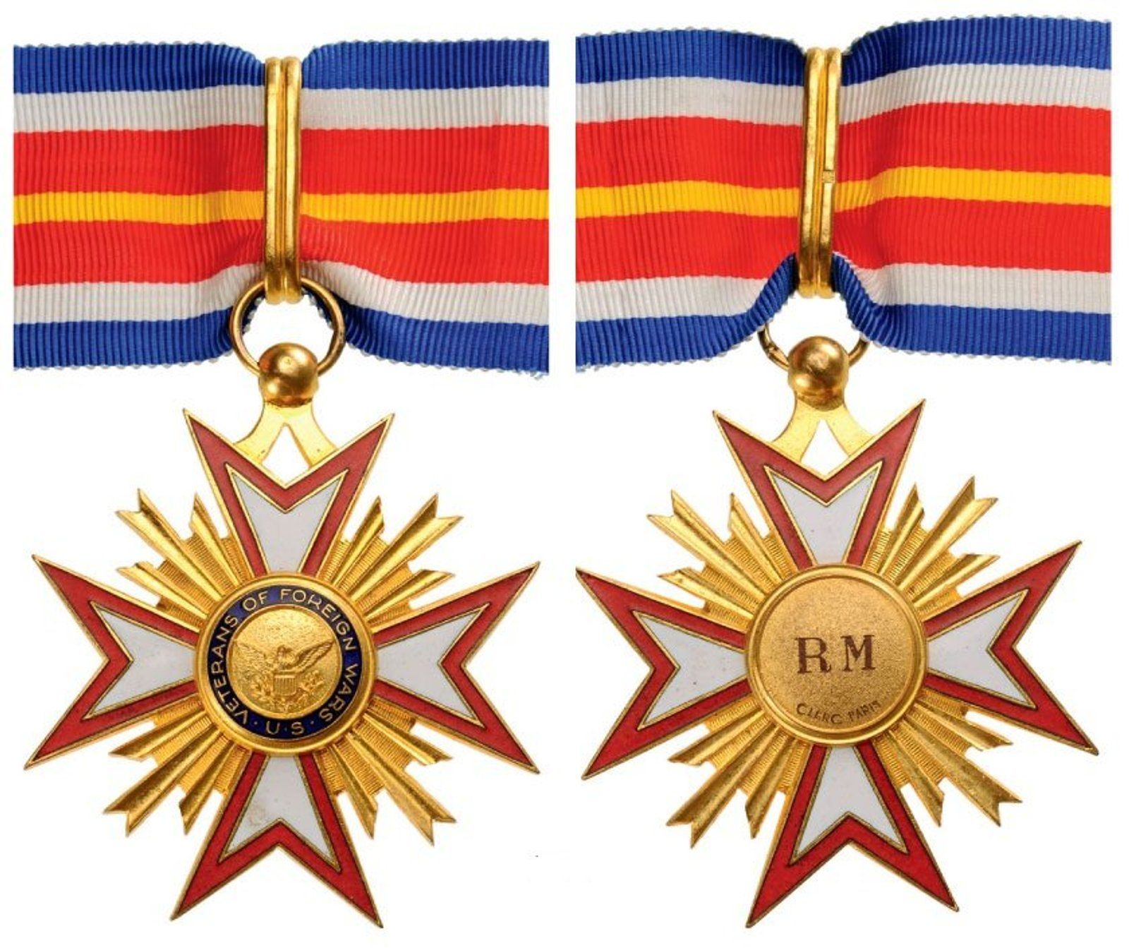 USA DECORATION OF THE ASSOCIATION OF VETERANS OF FOREIGN
