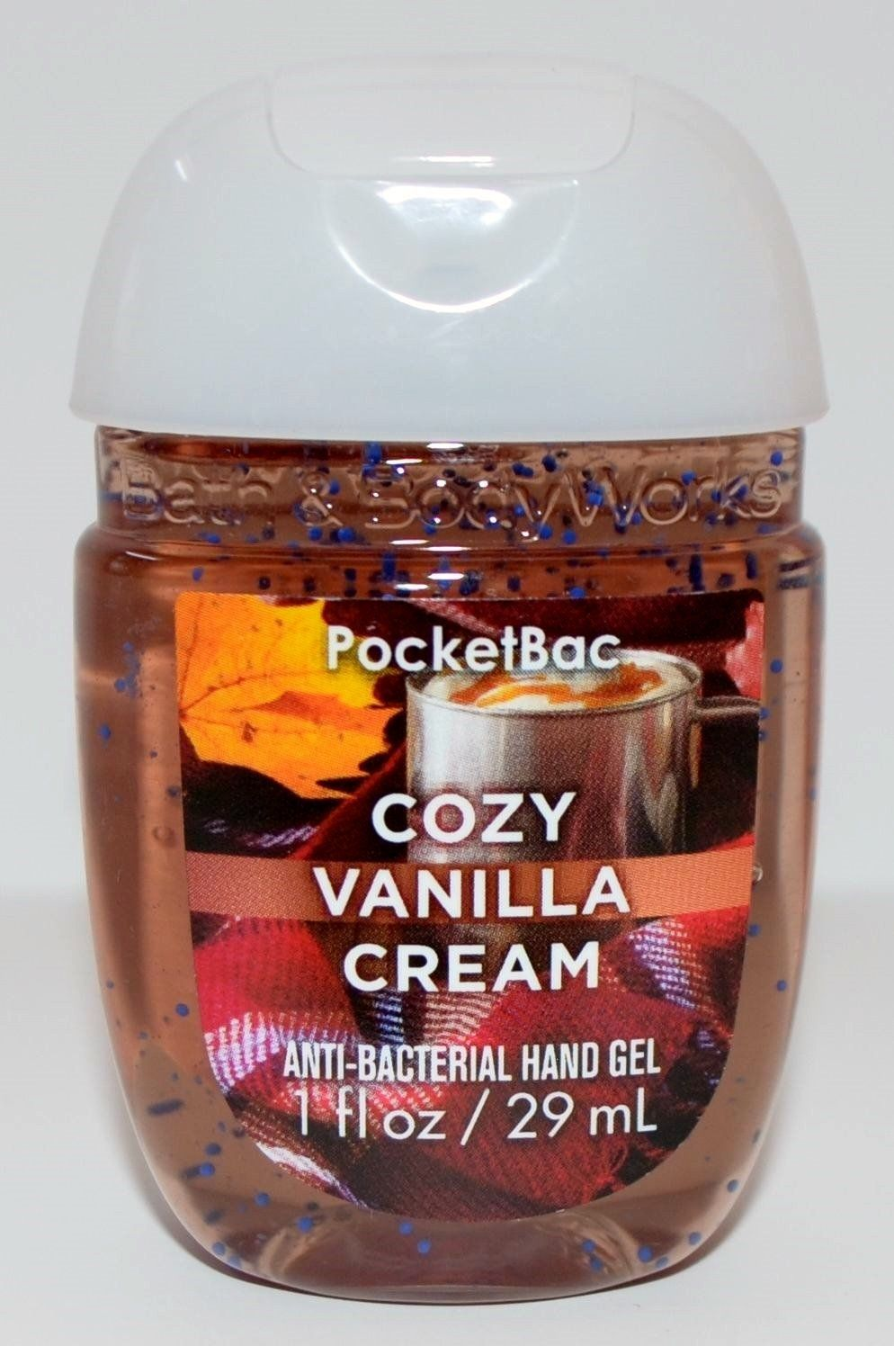 Bath And Body Works Pocketbac Hand Sanitizer Gel Cozy Vanilla