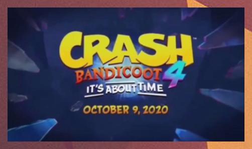 Crash Bandicoot Warped Logo Wallpaper Pc