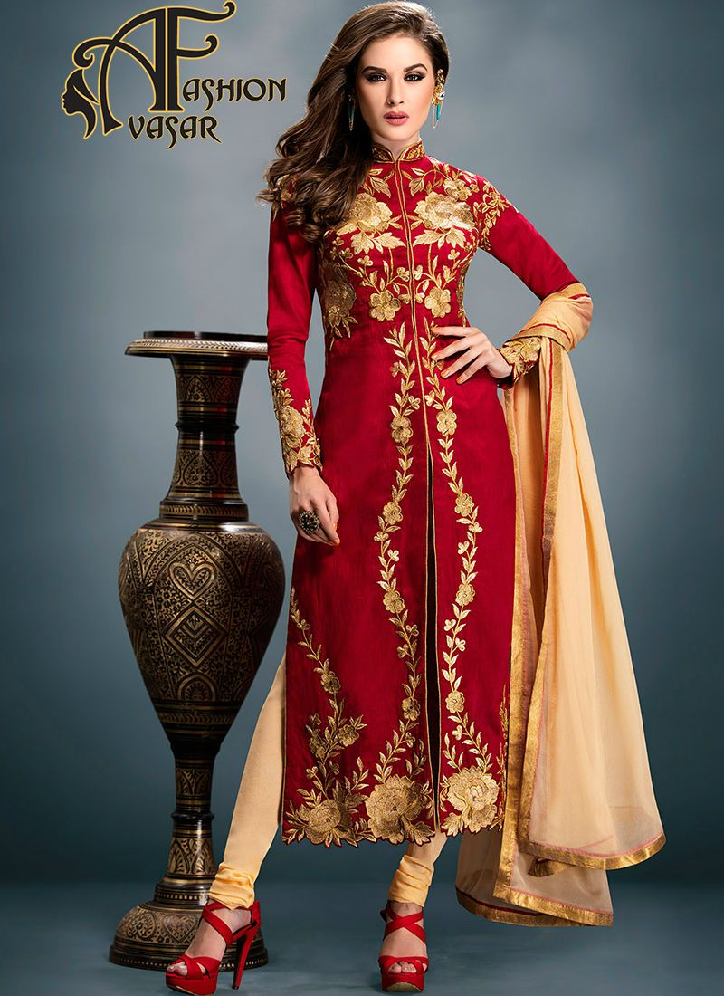 designer anarkali suits online shopping in india.Authentic beauty ...