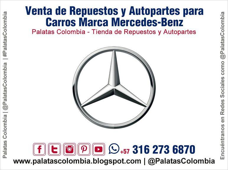 Venta De Repuestos Y Autopartes Para Carros Marca Mercedes Benz En