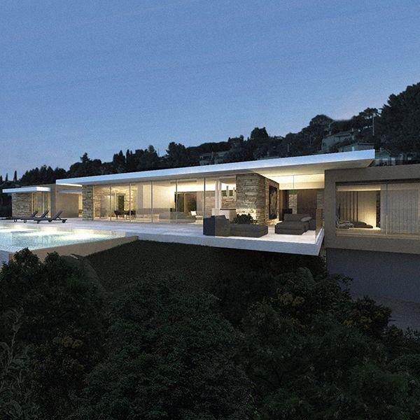 villa rsolument moderne prs du golfe de saint tropez