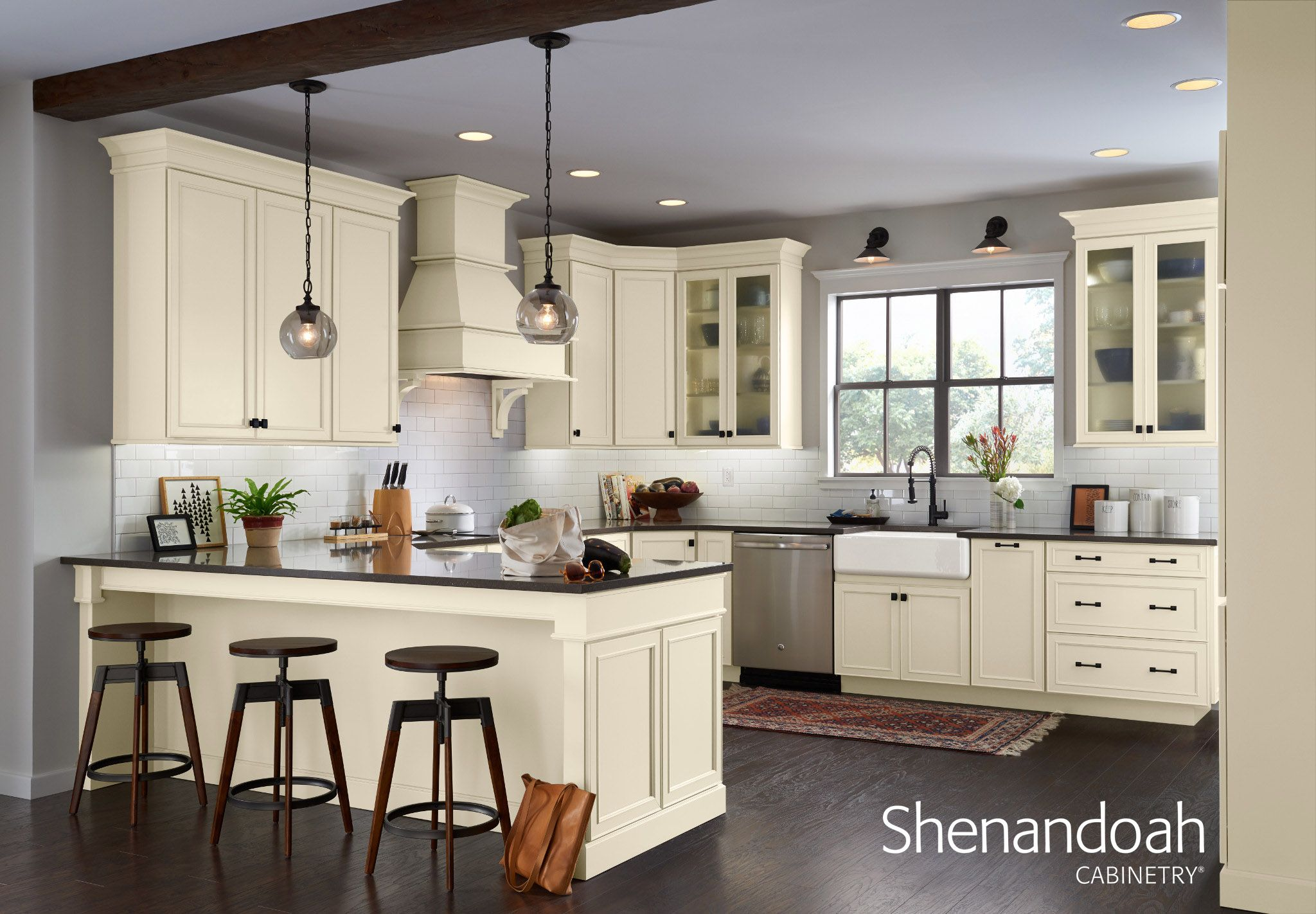 Painted Finish Cabinets image by Shenandoah Cabinetry ...