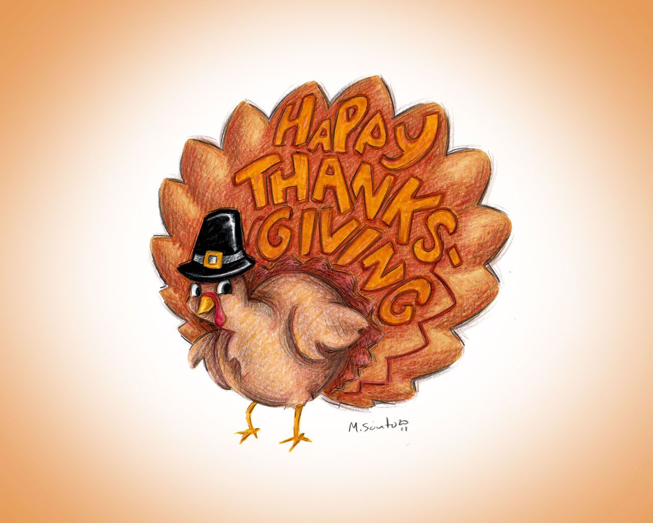 8th annual thanksgiving day - HD1280×1024