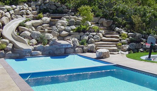 Automatic Pool Cover Products Automatic Infinity 4000 Automatic Pool Cover Pool Cover Retractable Pool Cover