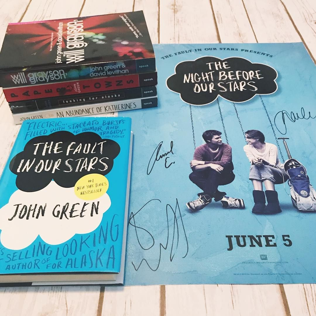The Fault in Our Stars by John Green ⭐️ After reading this ...