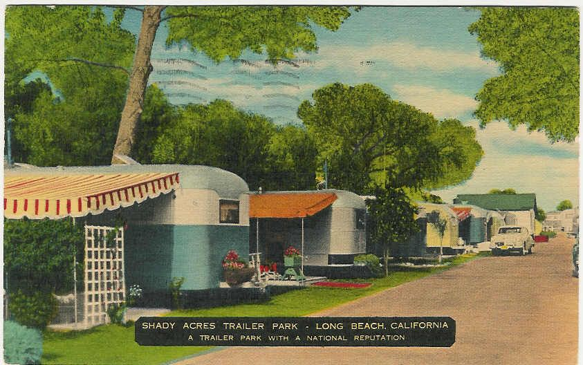 Vintage trailers imagaes user photos vintage shady acres trailer park long beach ca circa 1950 my aunt uncle and cousins lived here during the shady acres had a miniature golf course sciox Gallery