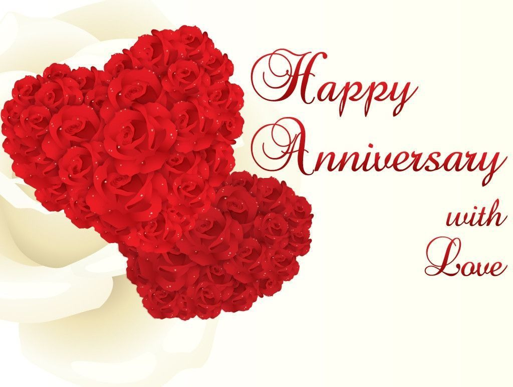 Marriage Anniversary With Love Hd