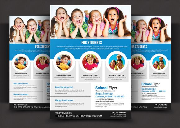 School Education Flyer @creativework247 Templates - Templates