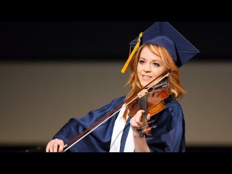 Worldwide violinist phenom Lindsey Stirling receives her BYU degree | Meridian…