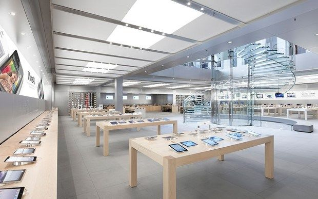 5 Most Beautiful Apple Stores From All Around The World Store Design Interior Apple Store Interior Apple Store Design