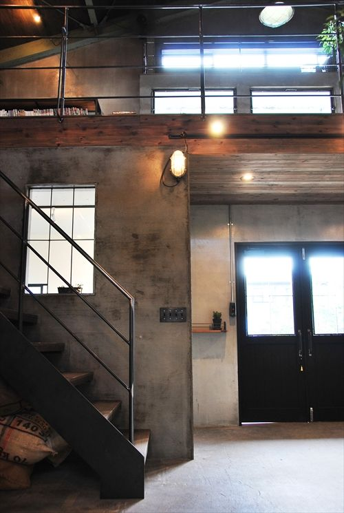 shop design hiro インダストリアルなインテリア industrial interior