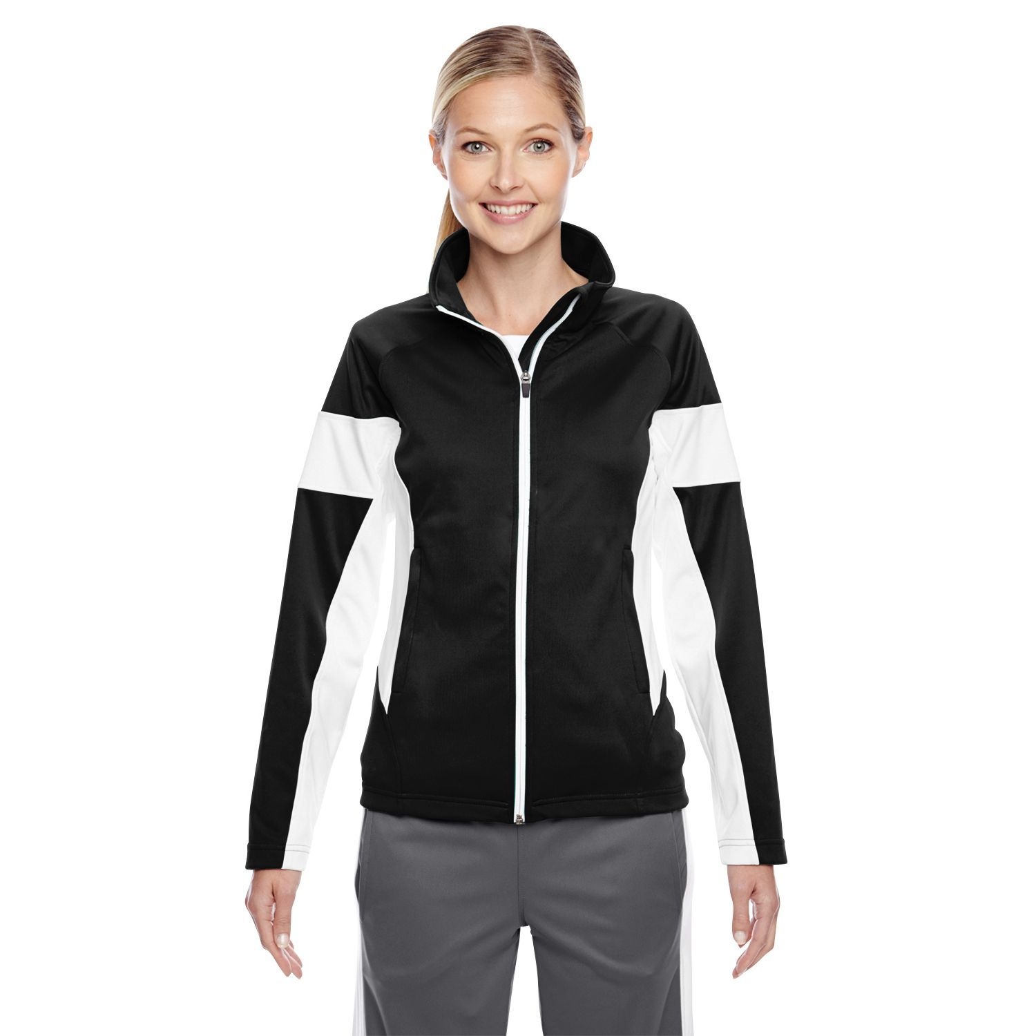 Elite Women's / White Performance Full-zip