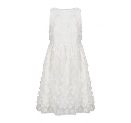 Marks & Spencer London Cocktailkleid / festliches Kleid ivory ...