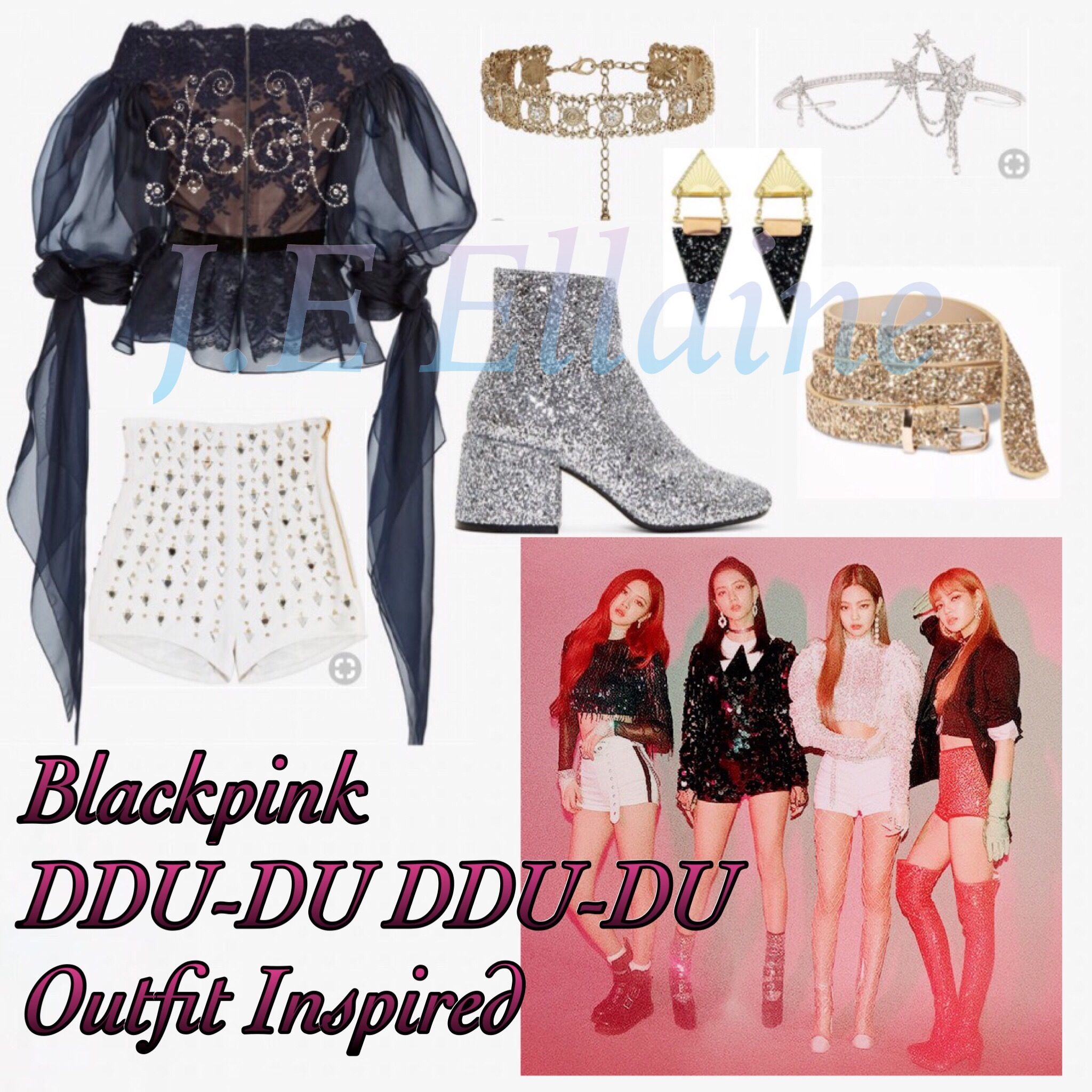Blackpink Outfit Ideas: Blackpink Outfit Square Up Inspired